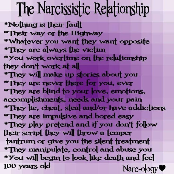 Why do narcissists marry