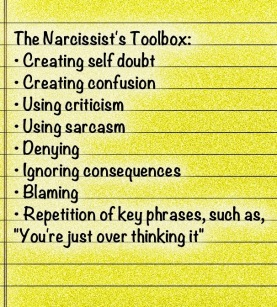 narcissistic-traits-checklist